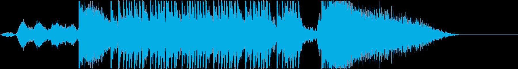 映画, ゲーム,トレーラー/打楽器主体の再生済みの波形