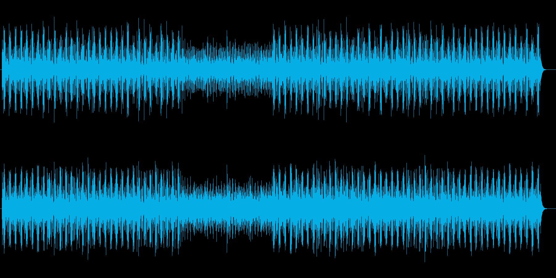 神秘的でファンタジーなシンセサウンドの再生済みの波形