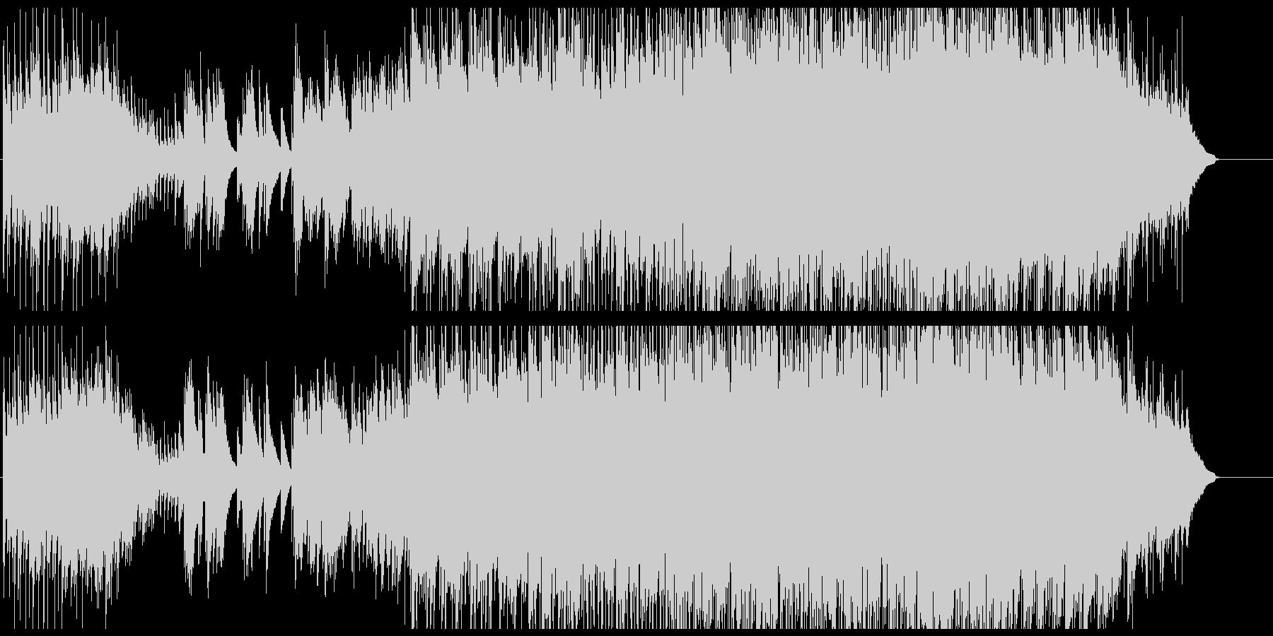 キラキラしたピアノが印象的・ファンタジーの未再生の波形