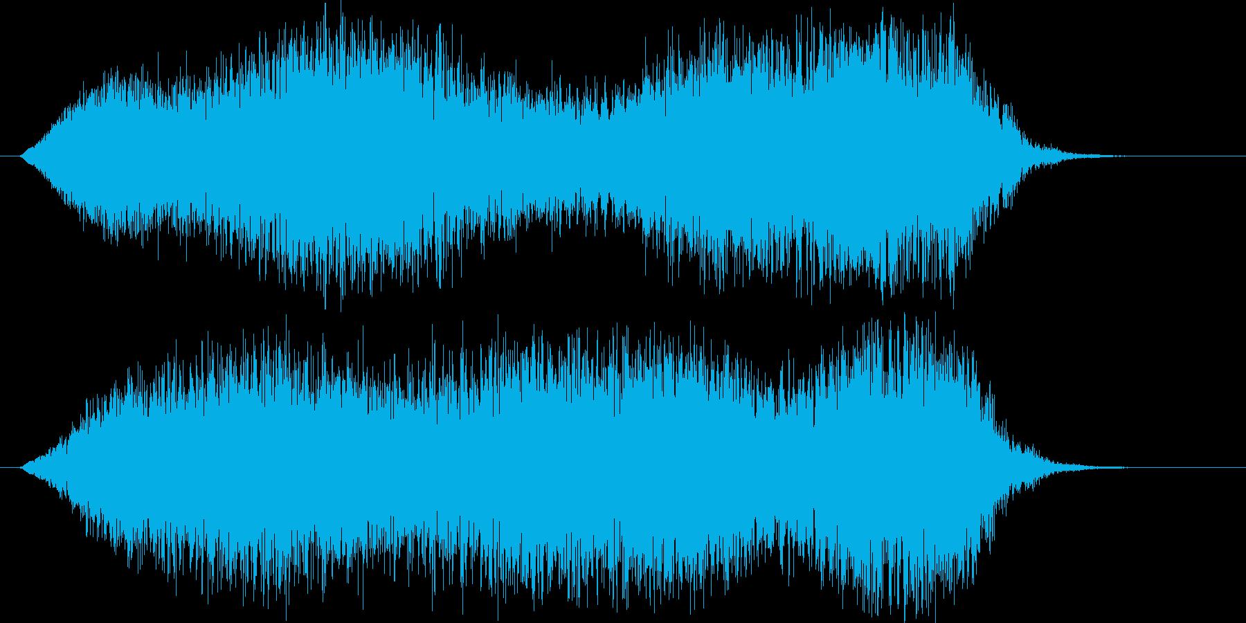 妖怪の飛行 オバケ 幽霊の再生済みの波形