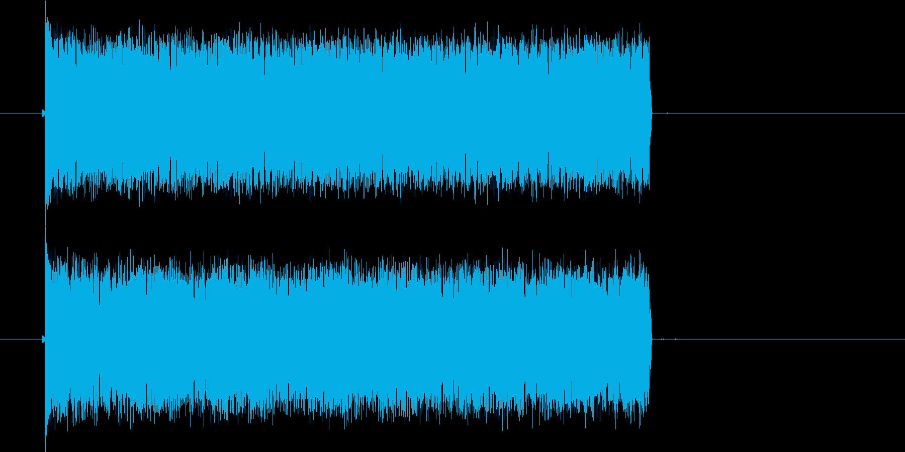 ピピピが連続する音の再生済みの波形