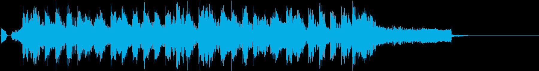 ジングル/コミカル/陽気/ポップの再生済みの波形