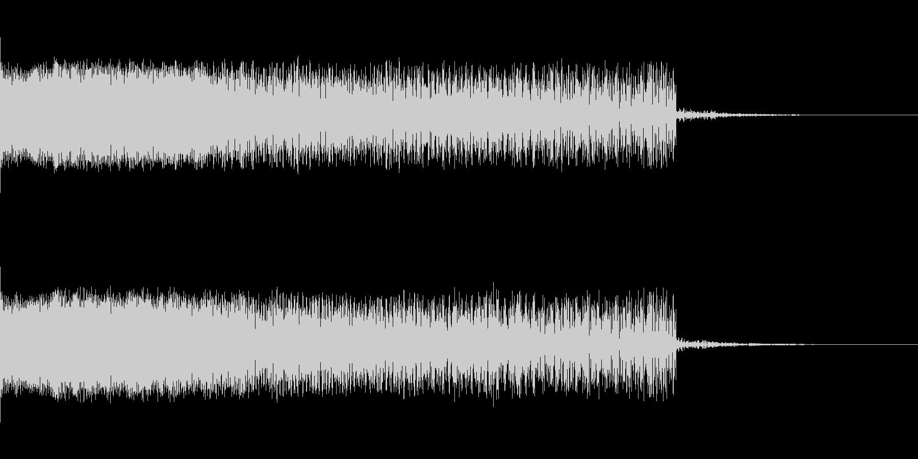 下降音 シンセ01 【4秒】の未再生の波形
