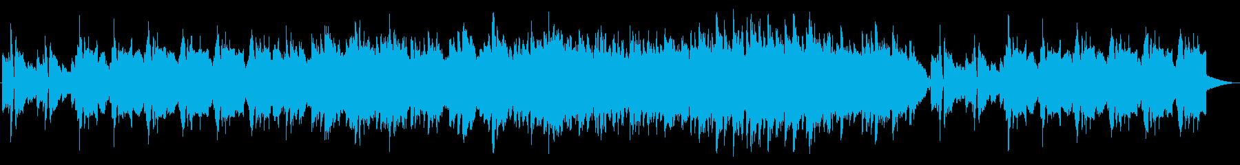 清涼感 和風メロ 笛 ほのぼのの再生済みの波形