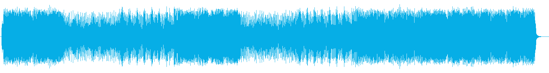 楽しく軽快なリズムのポップソングの再生済みの波形