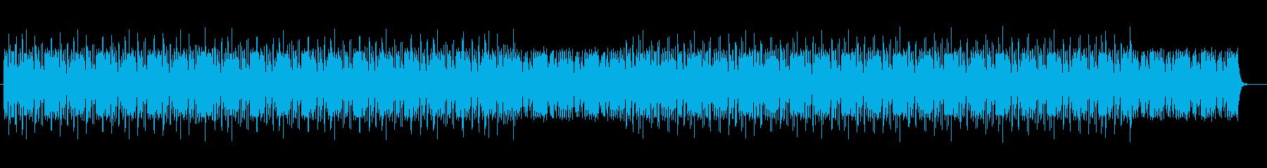陽気でキャッチ―で軽快なBGMサウンドの再生済みの波形