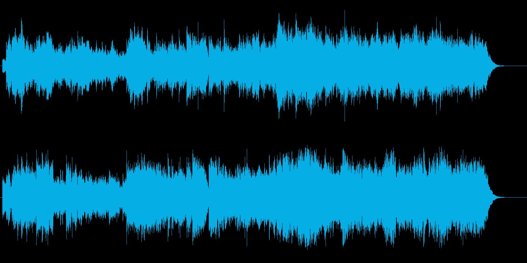 暖かな笛の音色のクラシカル・ポップスの再生済みの波形