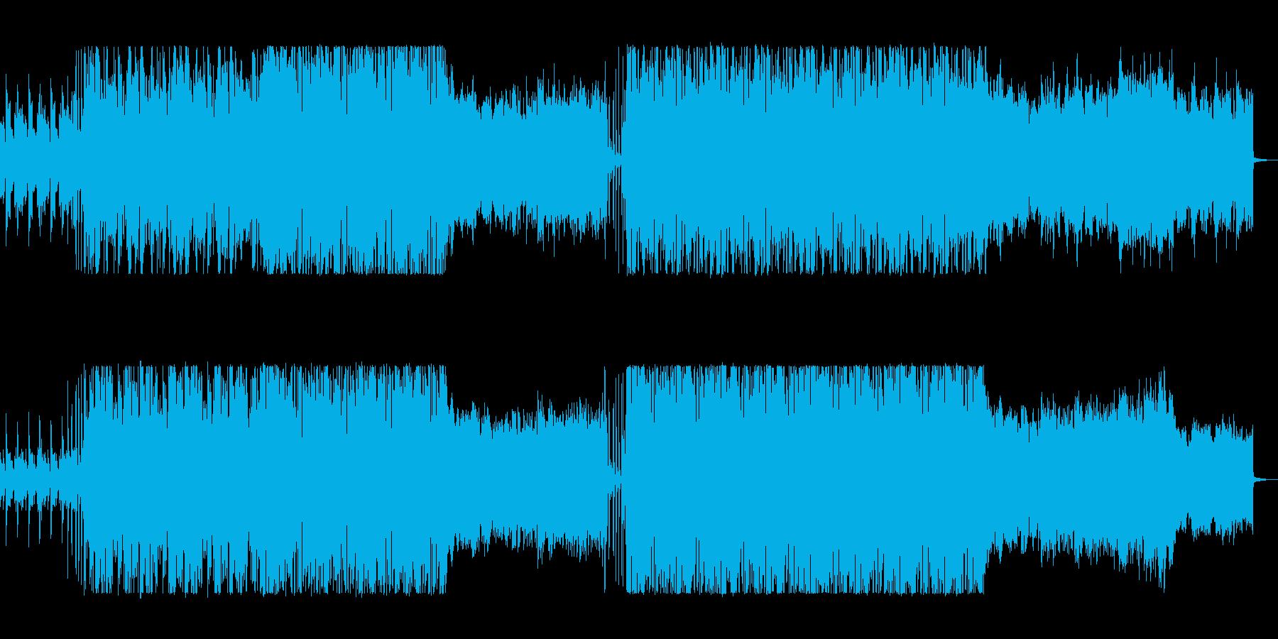 未来感のある軽快なエレクトリックロックの再生済みの波形