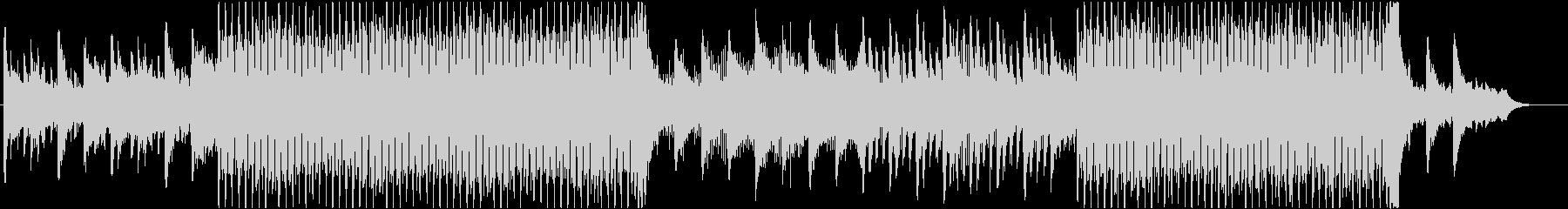 ピアノとシンセのアルペジオの未再生の波形