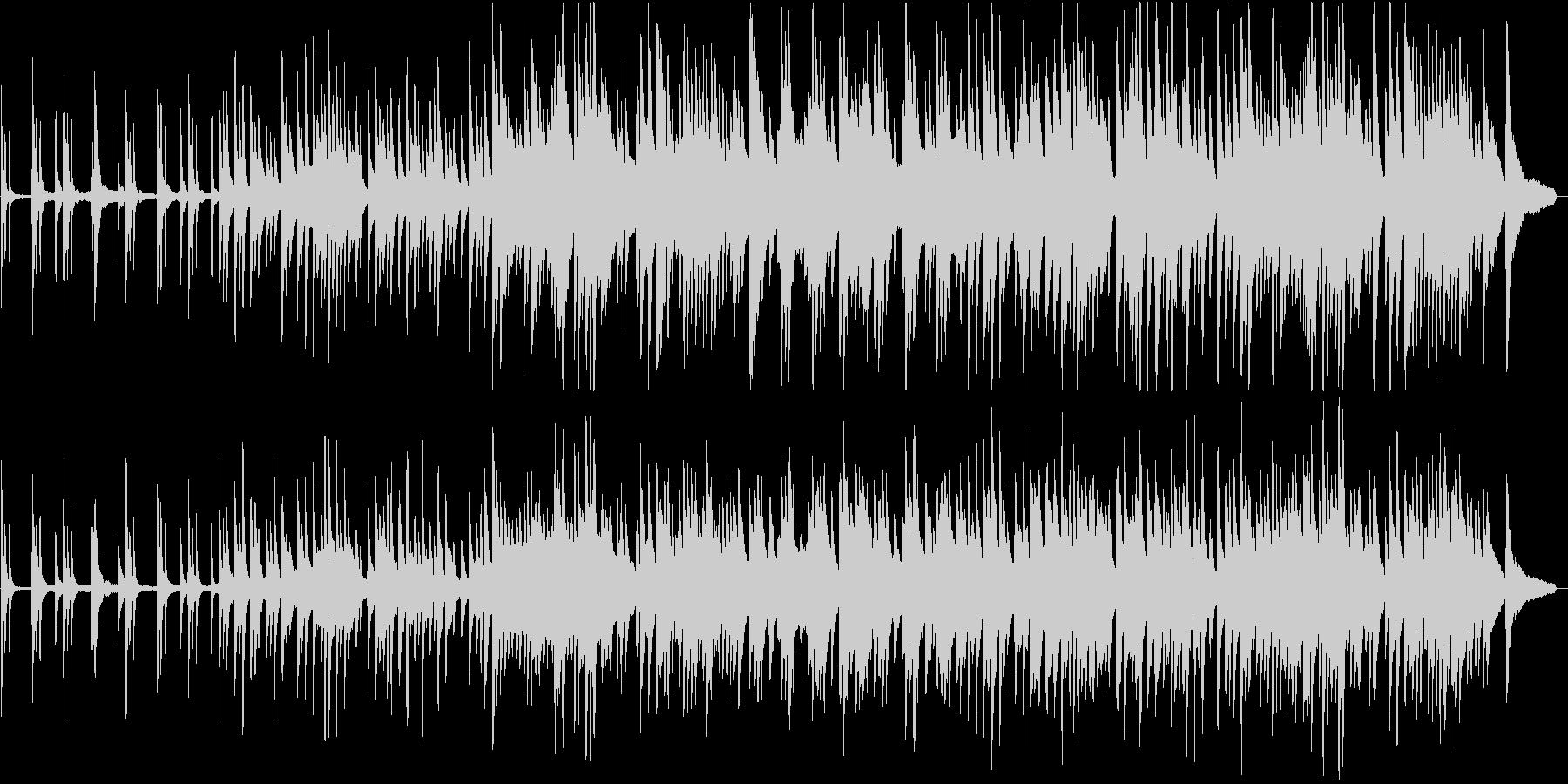 ドキュメンタリー:しっとりしたピアノの未再生の波形
