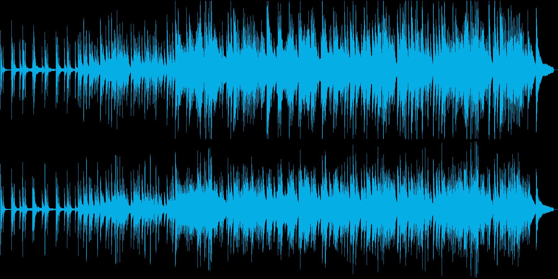 ドキュメンタリー:しっとりしたピアノの再生済みの波形