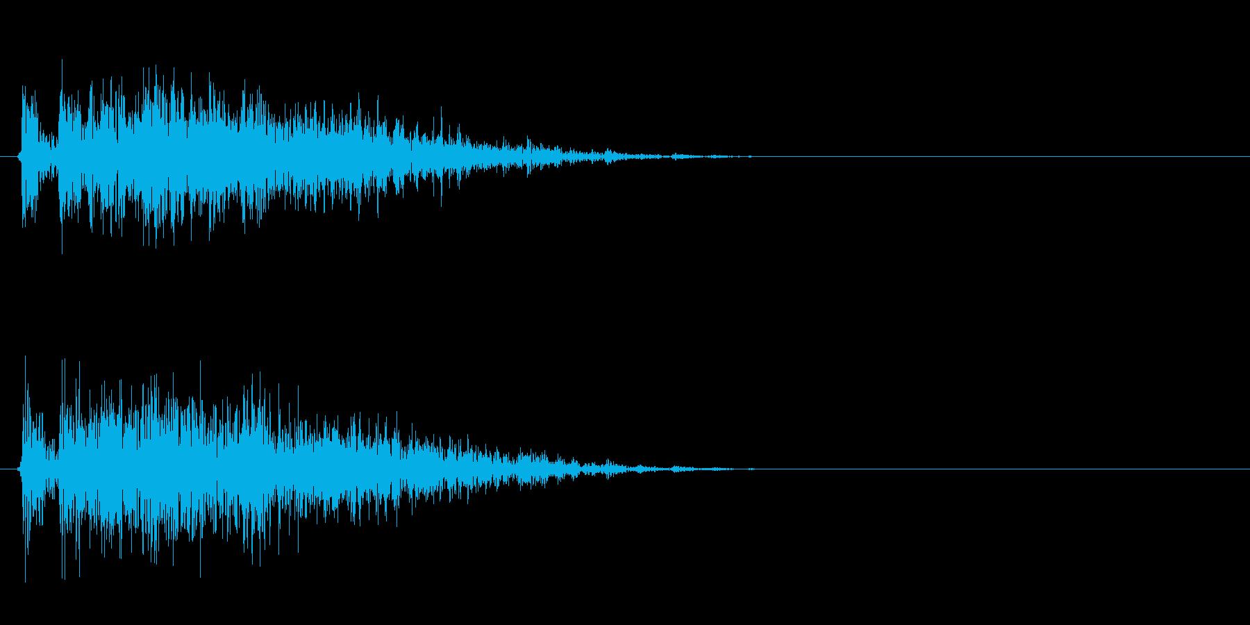 ギィィッ(きしむ音、ホラーゲーム)の再生済みの波形
