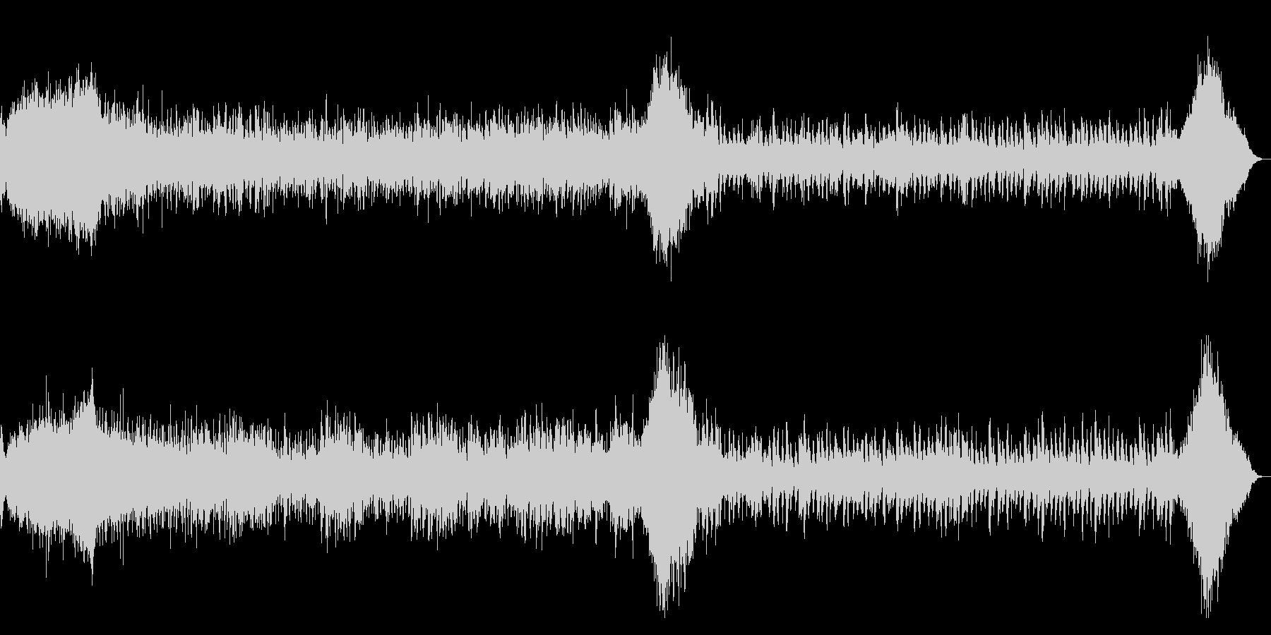 ホラー系 ダークなアルペジオBGMの未再生の波形