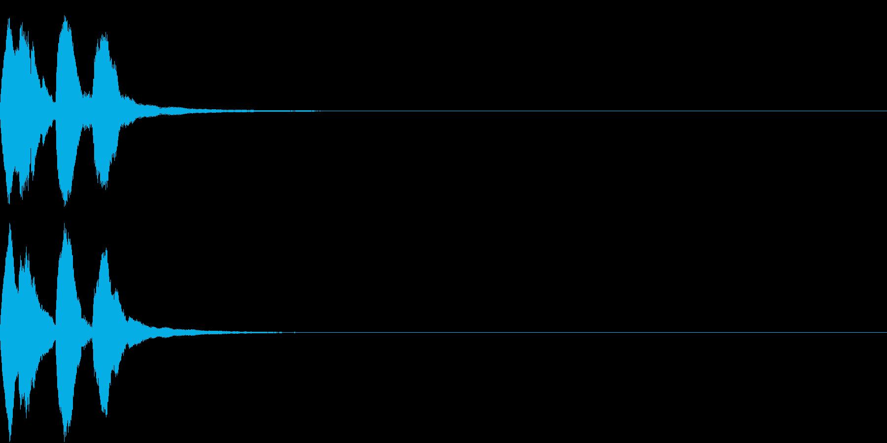レベルアップ アイテム ヒット 3の再生済みの波形