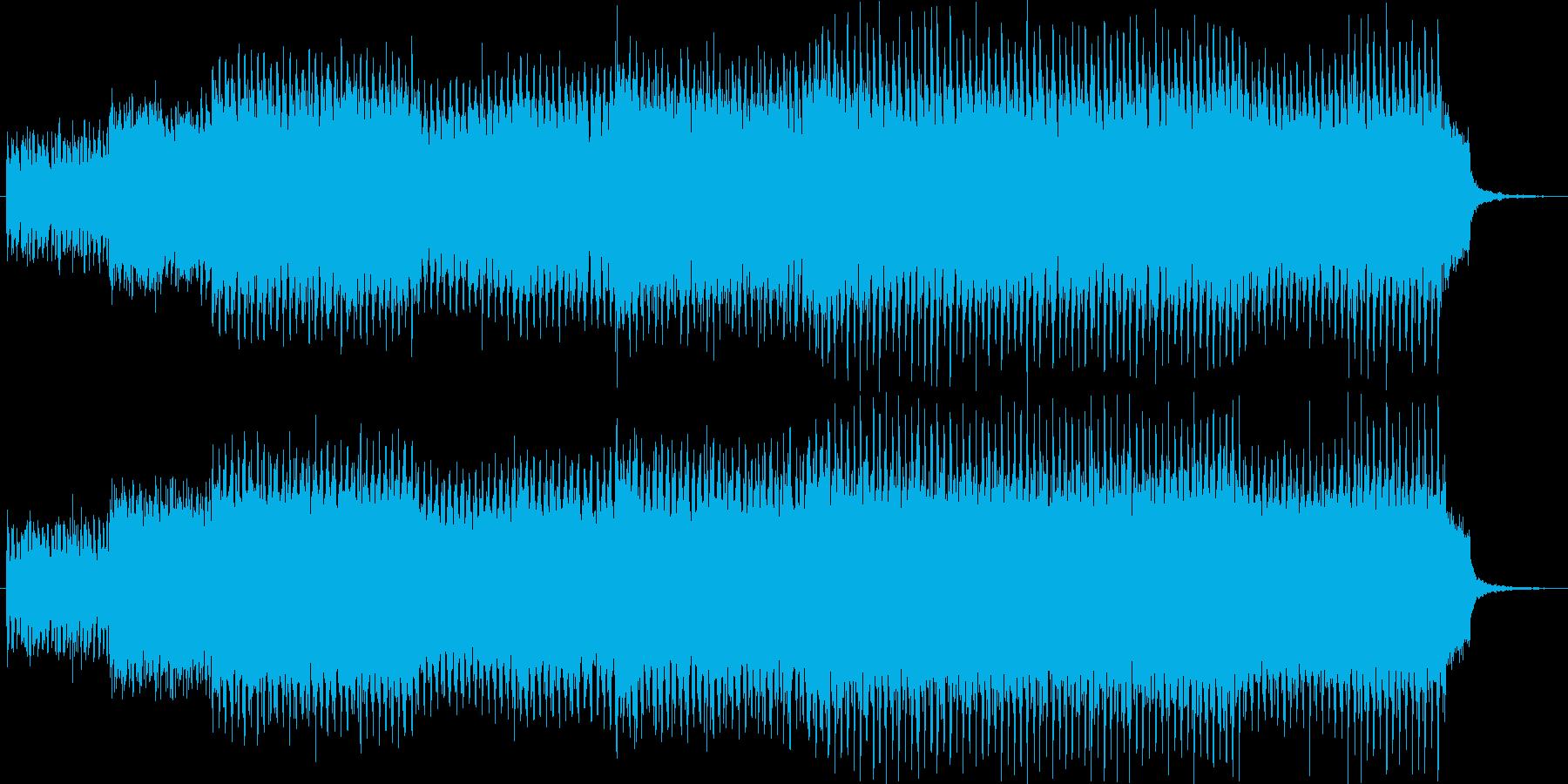 ガツンと元気のあるダンスミュージック。の再生済みの波形