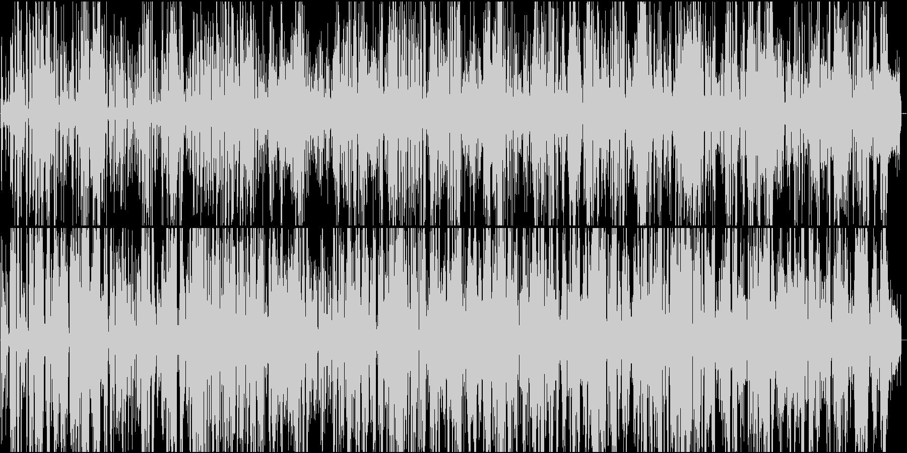 宇宙人が話をしている様なBGMですの未再生の波形