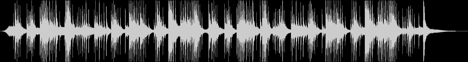 映像BGM ピアノで氷の世界を表現の未再生の波形