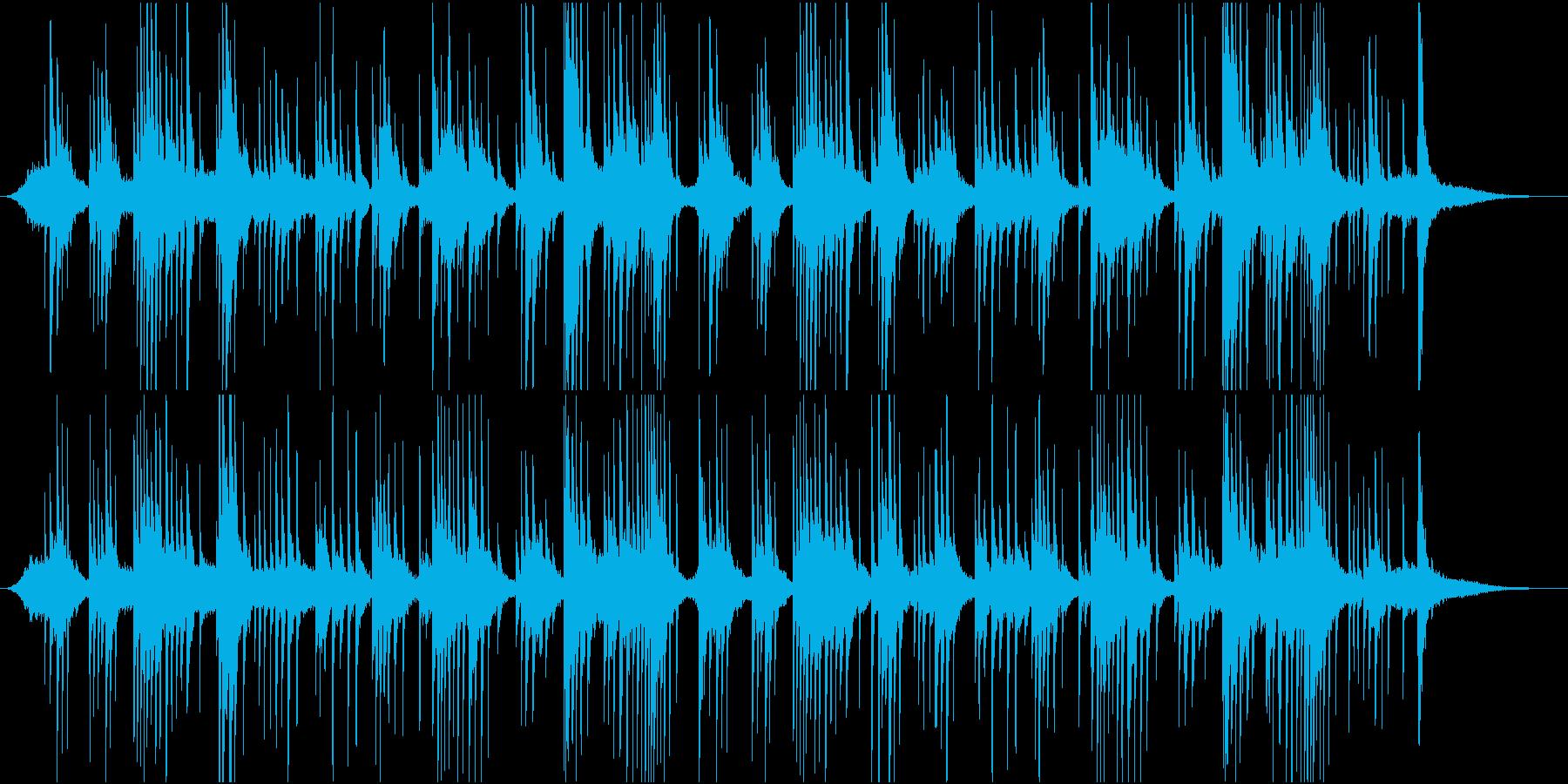 映像BGM ピアノで氷の世界を表現の再生済みの波形