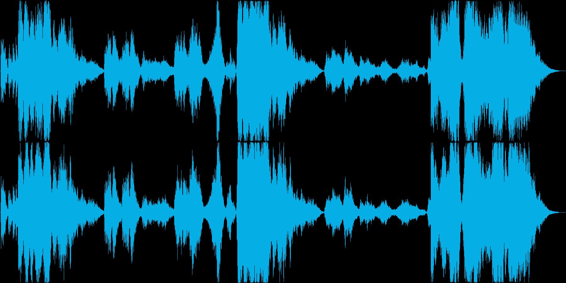 和風オーケストラ(和太鼓) 生ける岩山の再生済みの波形