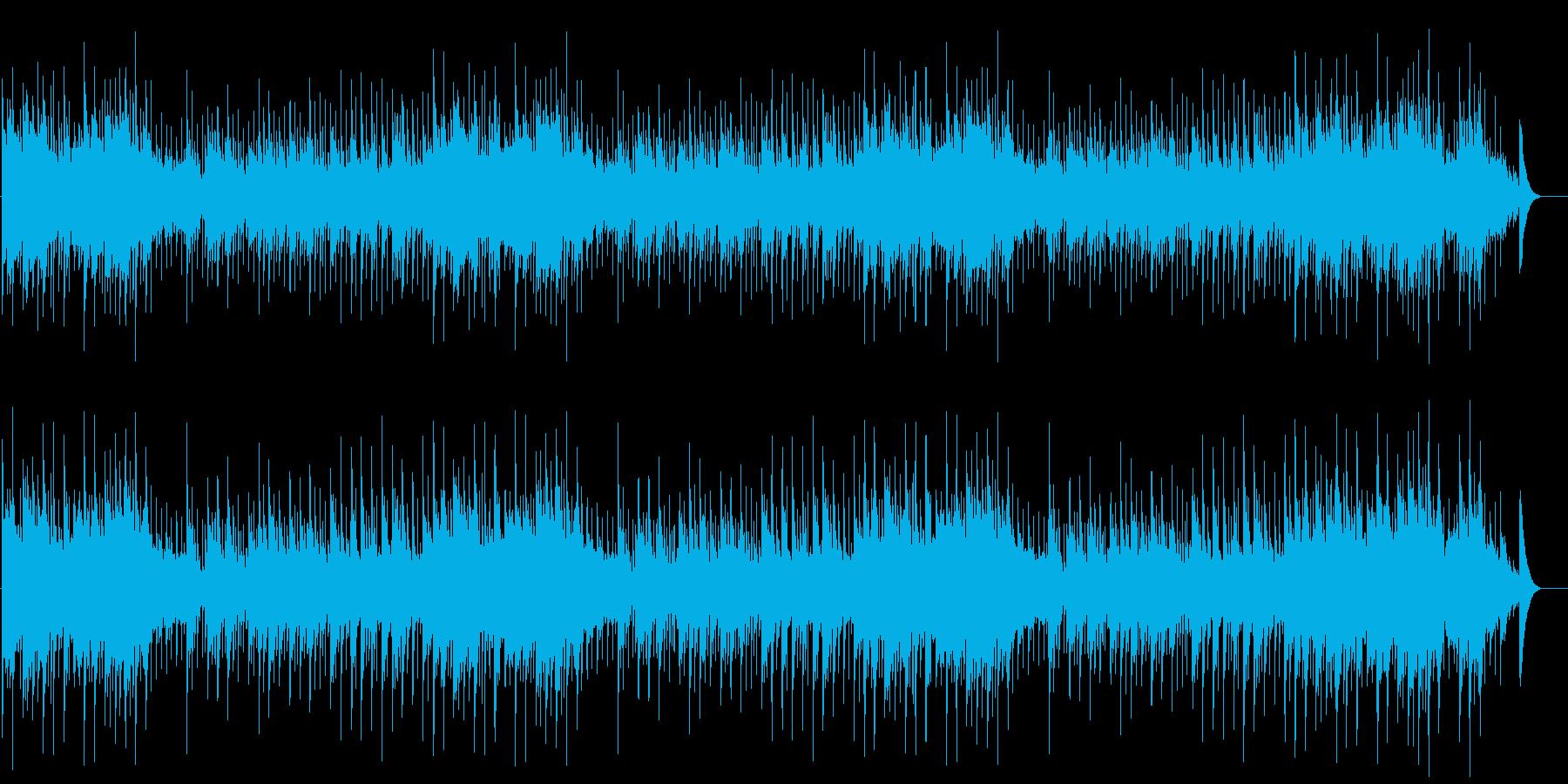 喜びを分かち合う素直な心の高揚を呼ぶ楽曲の再生済みの波形