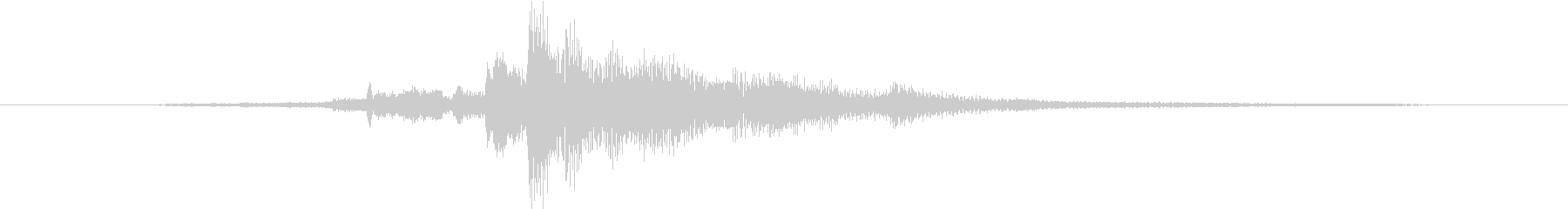 カギを入手した音・チャキッという金属音2の未再生の波形