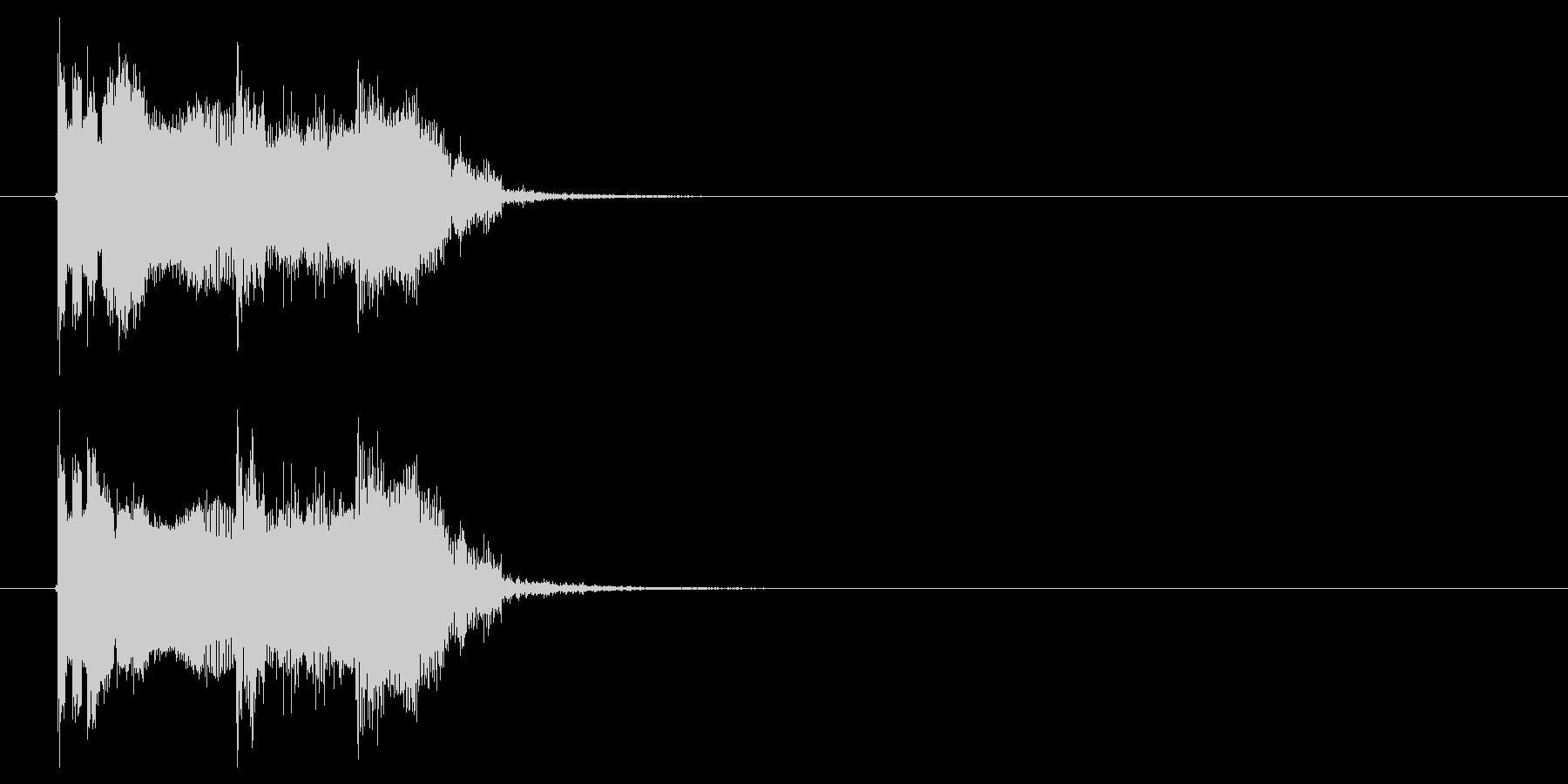 ビビビビ!チューーン!SF系電子音の未再生の波形