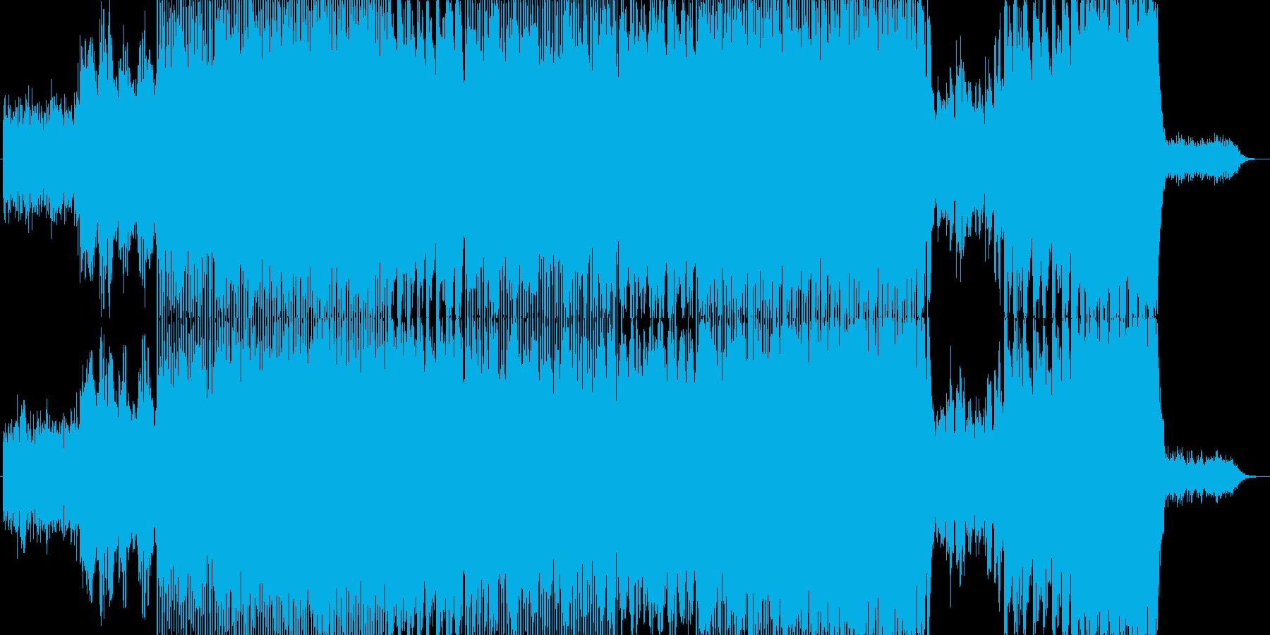 優しくて爽やかな楽曲です。の再生済みの波形