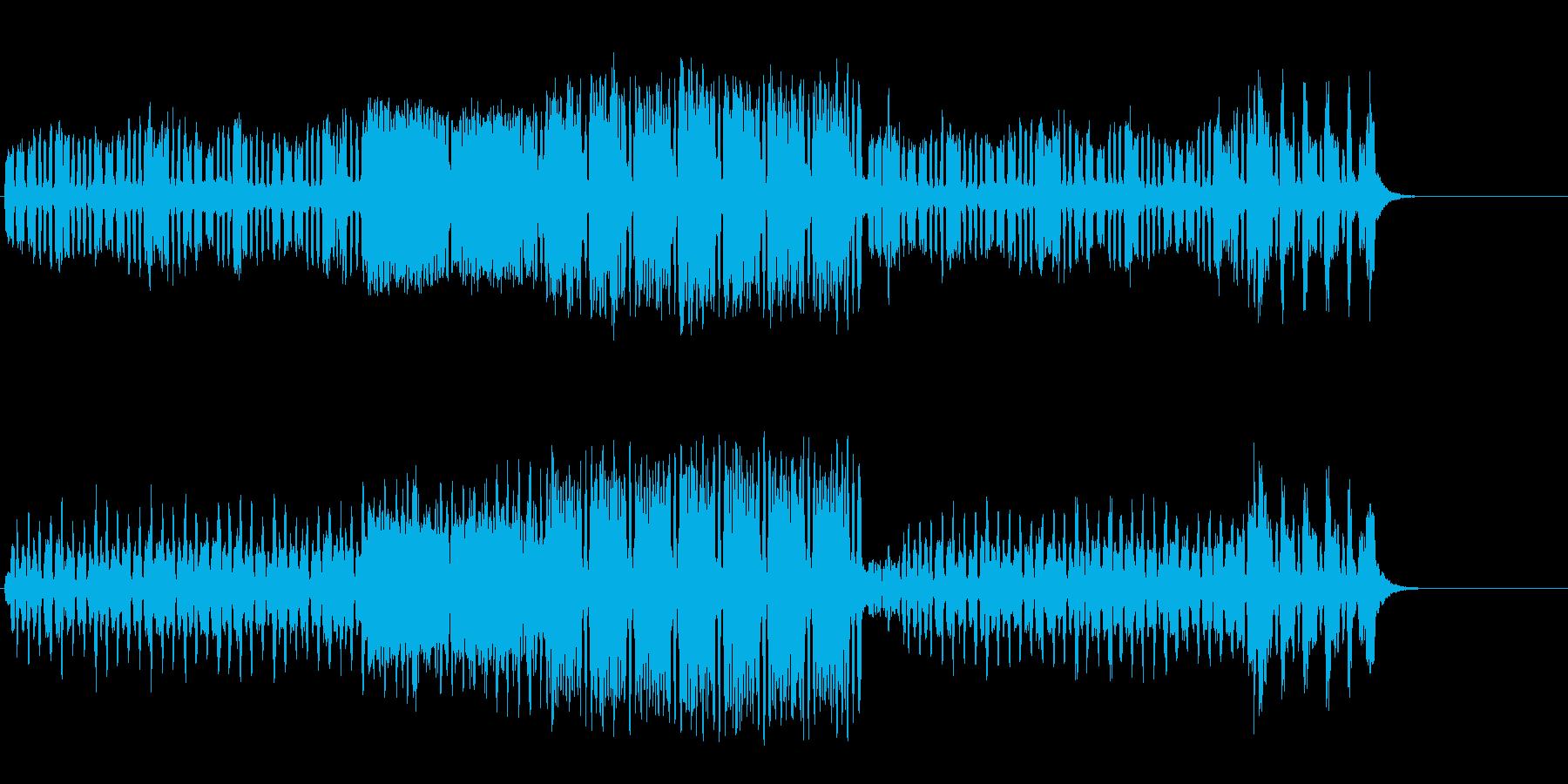 アルプスの人々の生活の軽やかなポップの再生済みの波形