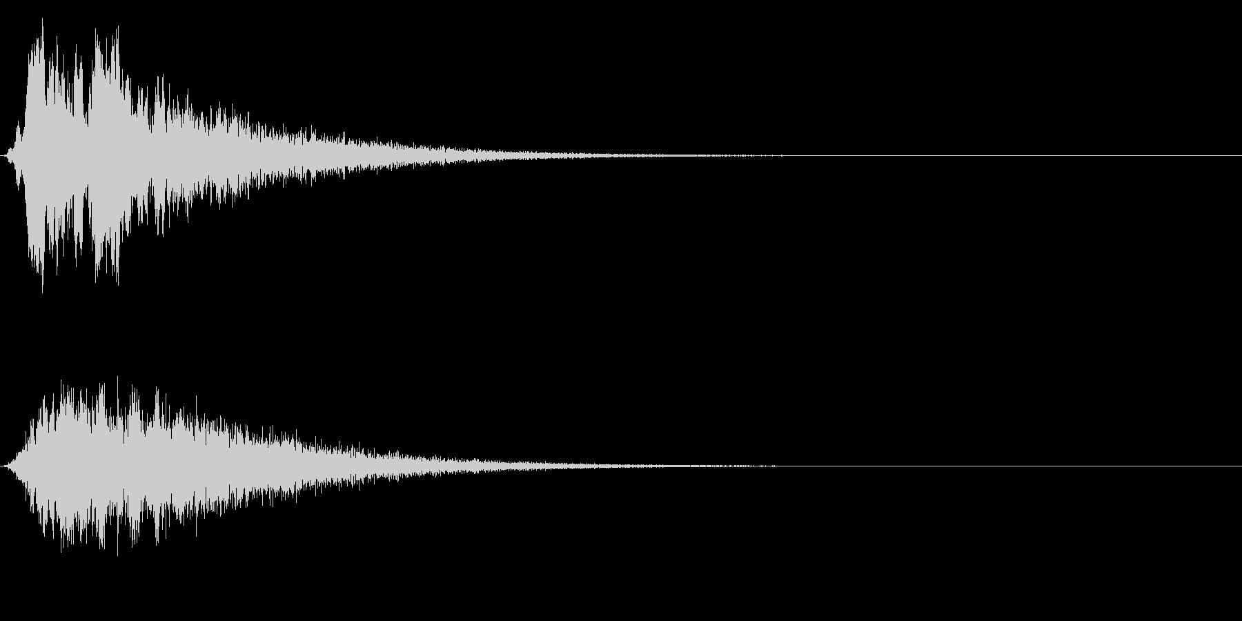 シュイーン(パワーアップ/能力アップ)の未再生の波形