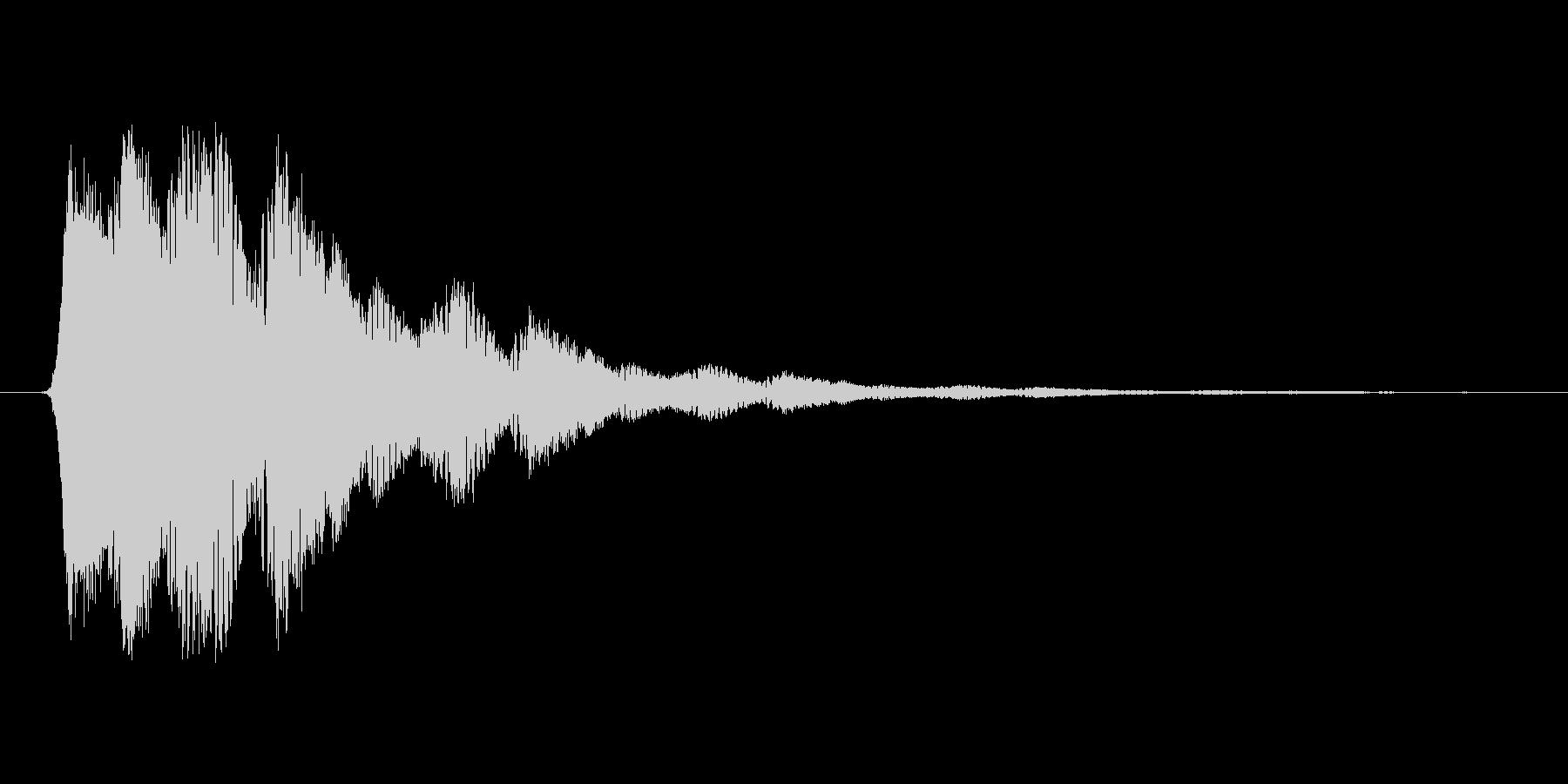 ファミコン風効果音決定音系です 02の未再生の波形