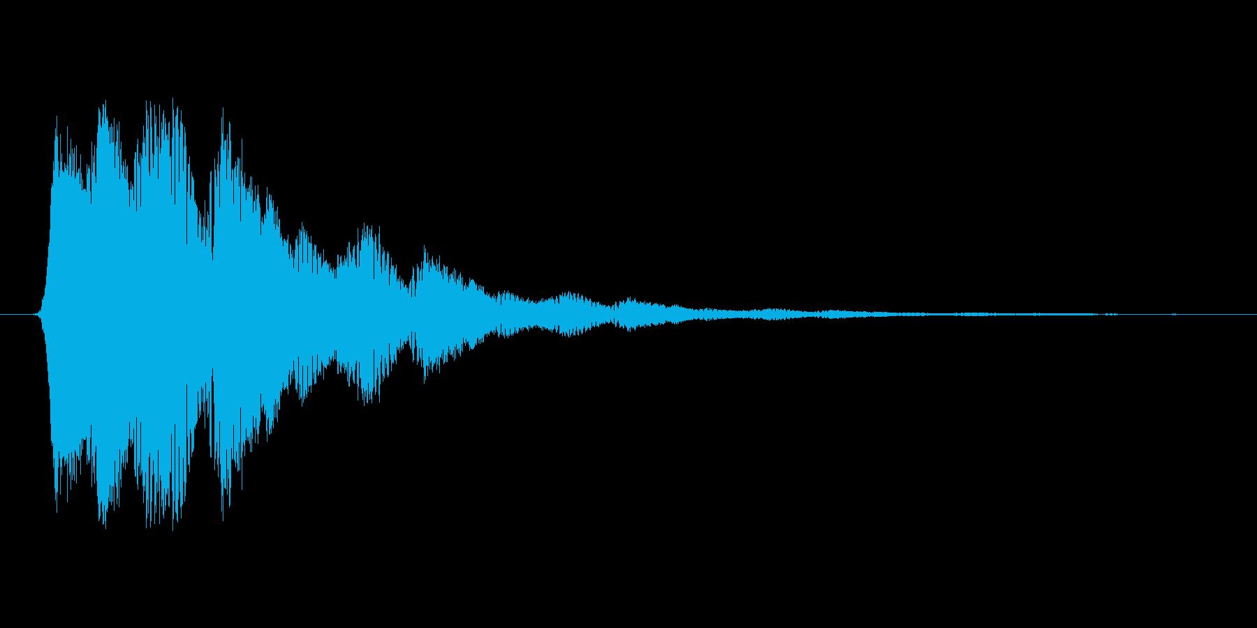 ファミコン風効果音決定音系です 02の再生済みの波形