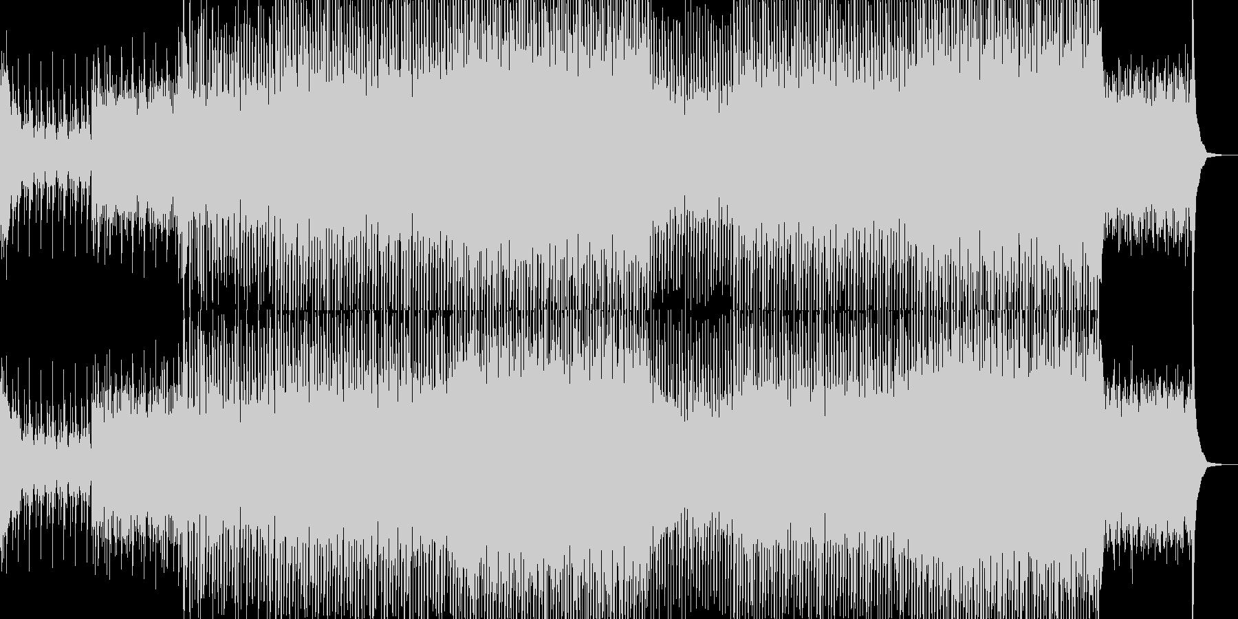 EDM現代的なシンセのクラブ系-06の未再生の波形