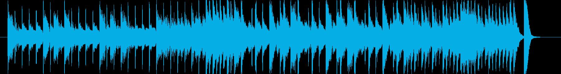 ピアノとドラムだけの曲ですの再生済みの波形