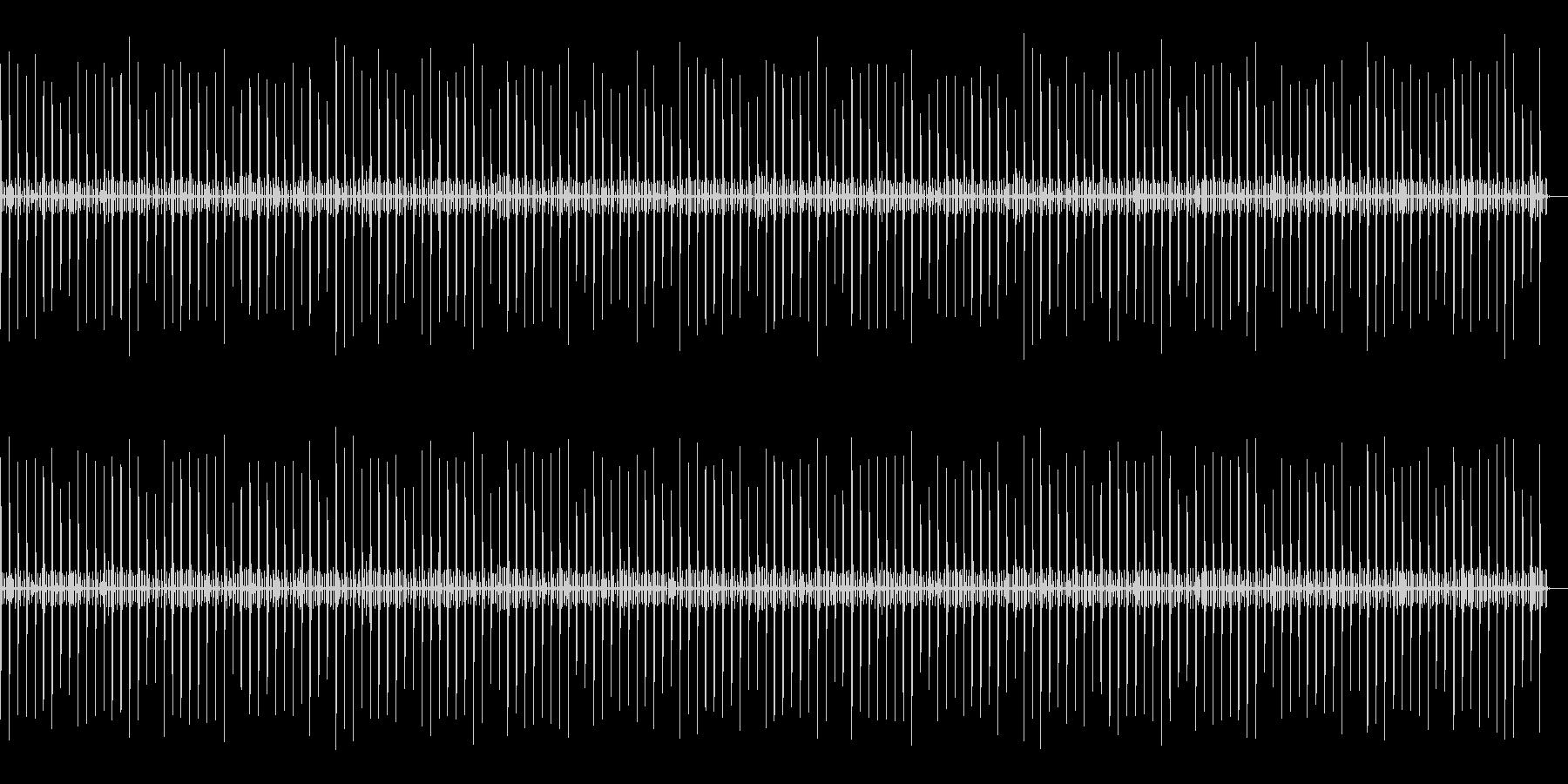 秒針エフェクト02の未再生の波形