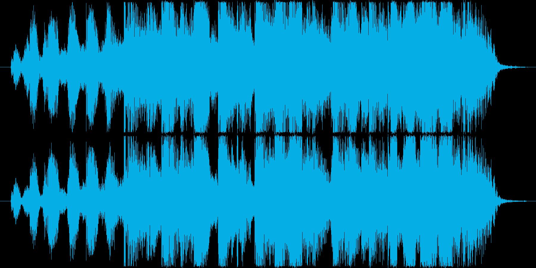 ファンキー&ゴージャスなヒップホップロゴの再生済みの波形