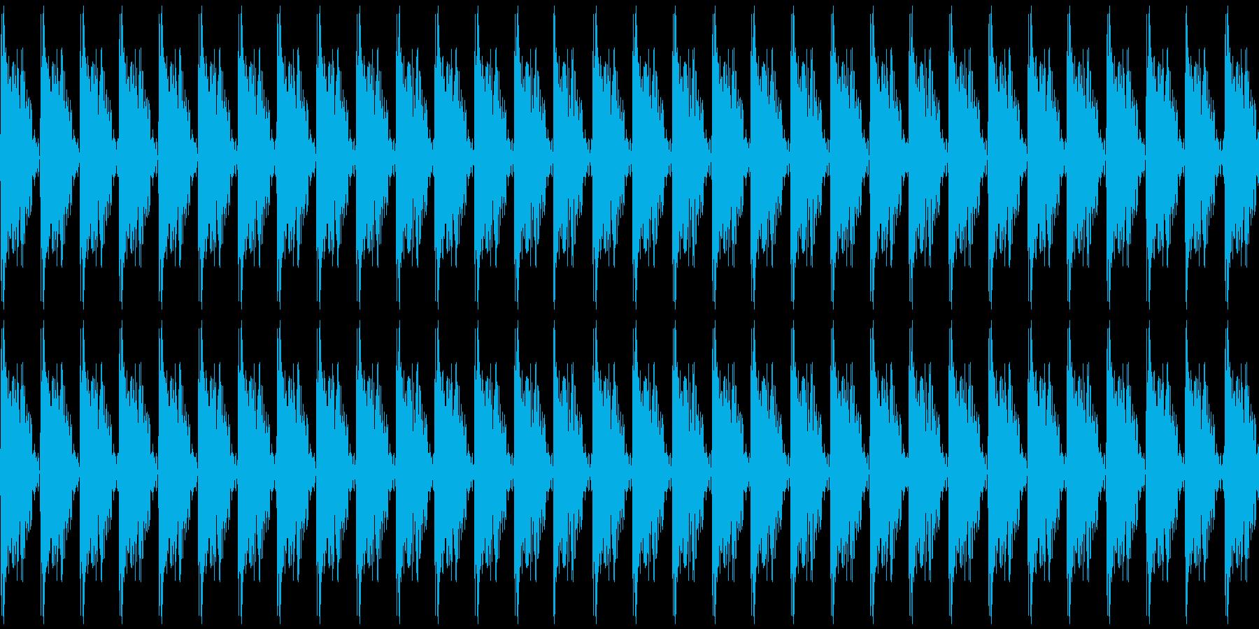 カタカタ音2 カタカタした音2 の再生済みの波形