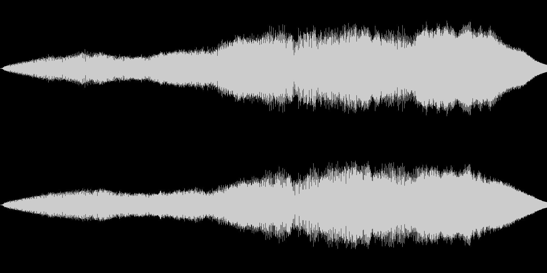 ニューッと伸びるの未再生の波形