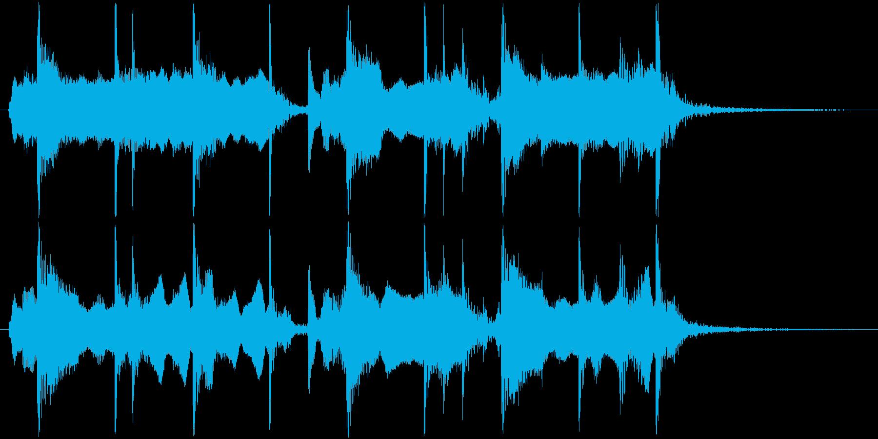 和風の単体素材です。の再生済みの波形