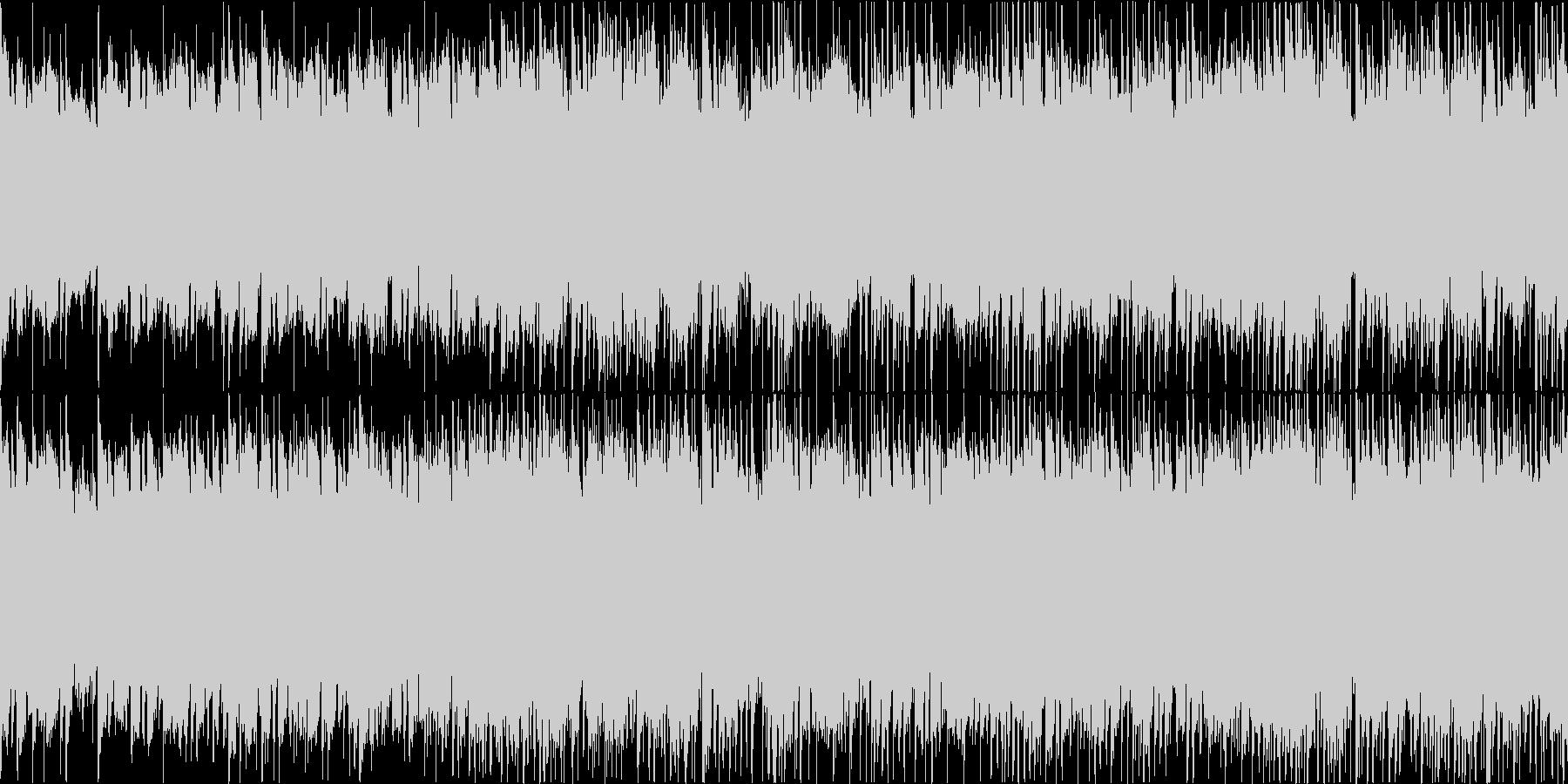 ノスタルジックな民族音楽系BGMの未再生の波形
