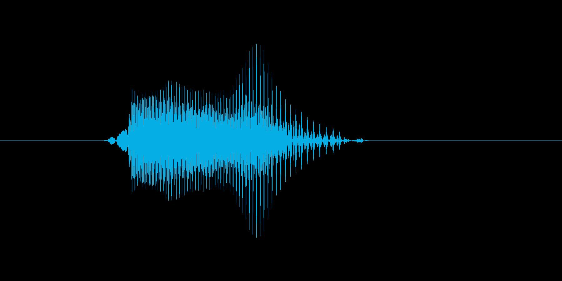 p,P,P(ピー)の再生済みの波形