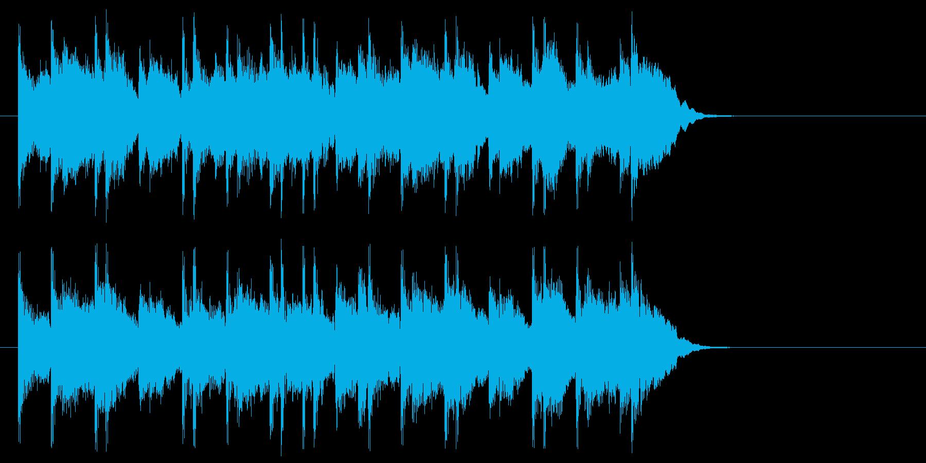 まどろみアコースティック(サビ)の再生済みの波形
