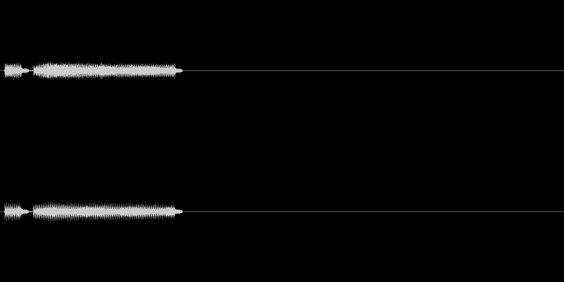 クイズ不正解2の未再生の波形