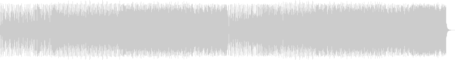 鮮明で煌びやかなポップハウス曲の未再生の波形