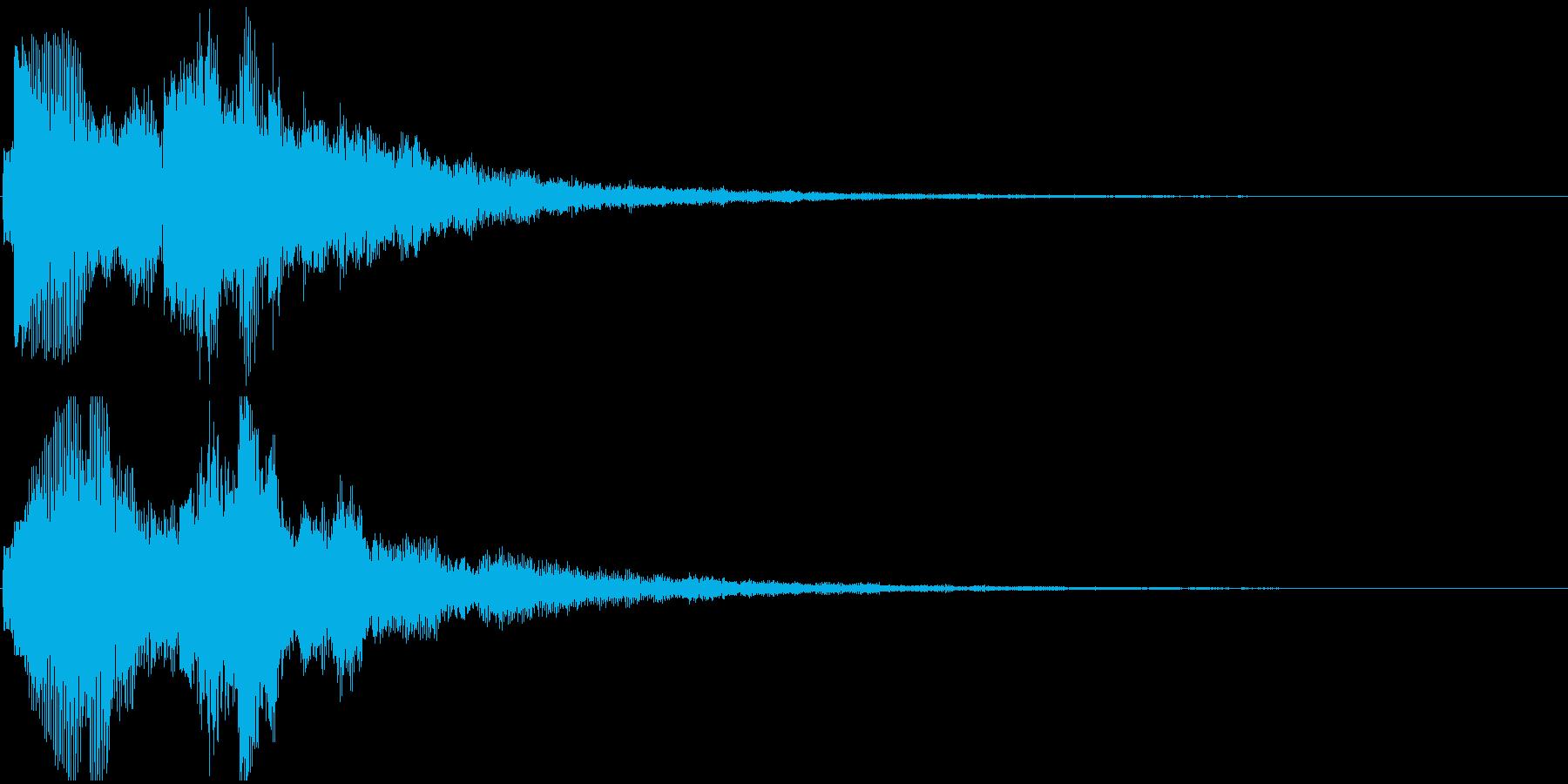 ジングル(ちょっと嬉しい・レアアイテム)の再生済みの波形