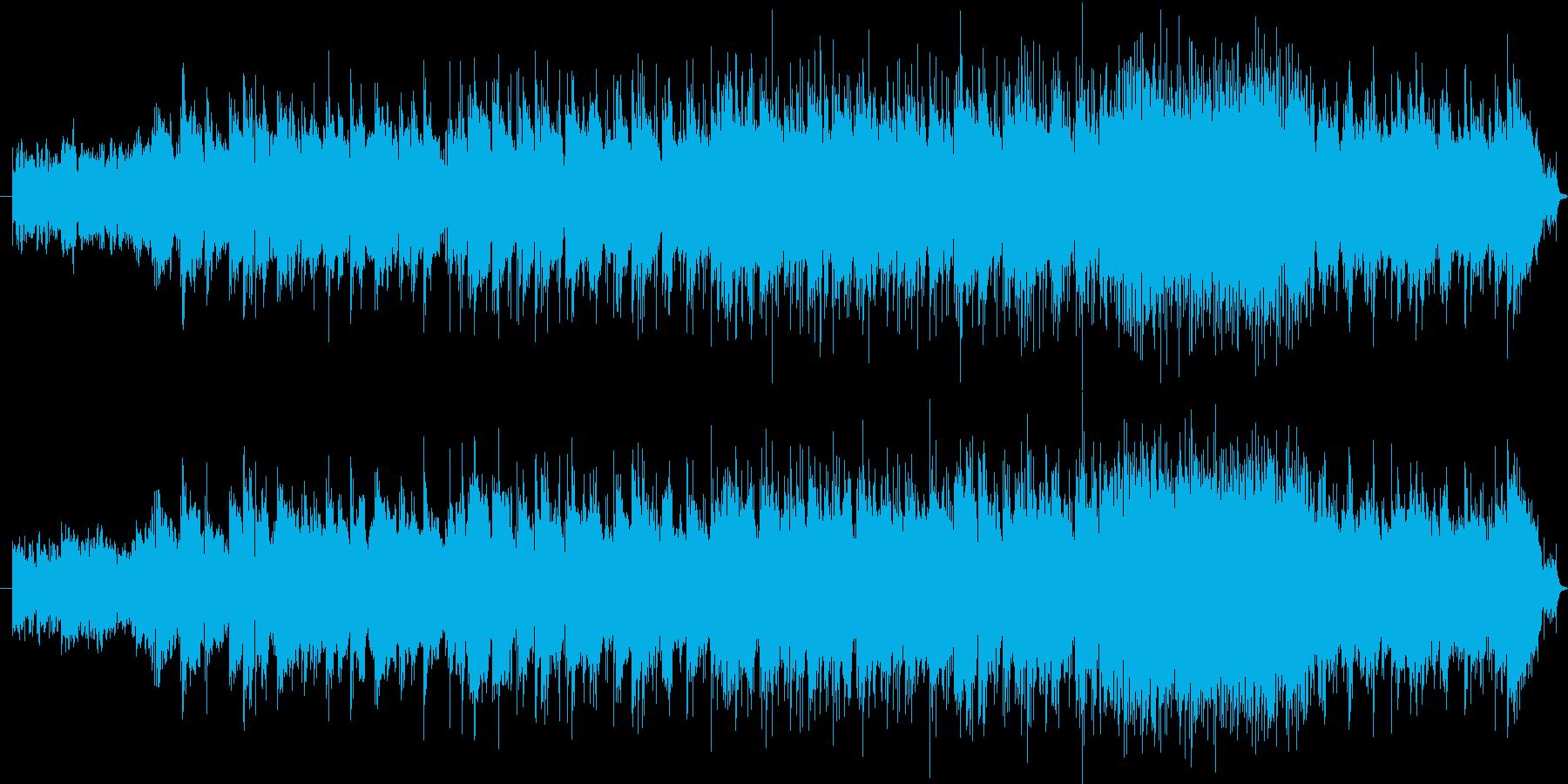 空への再生済みの波形