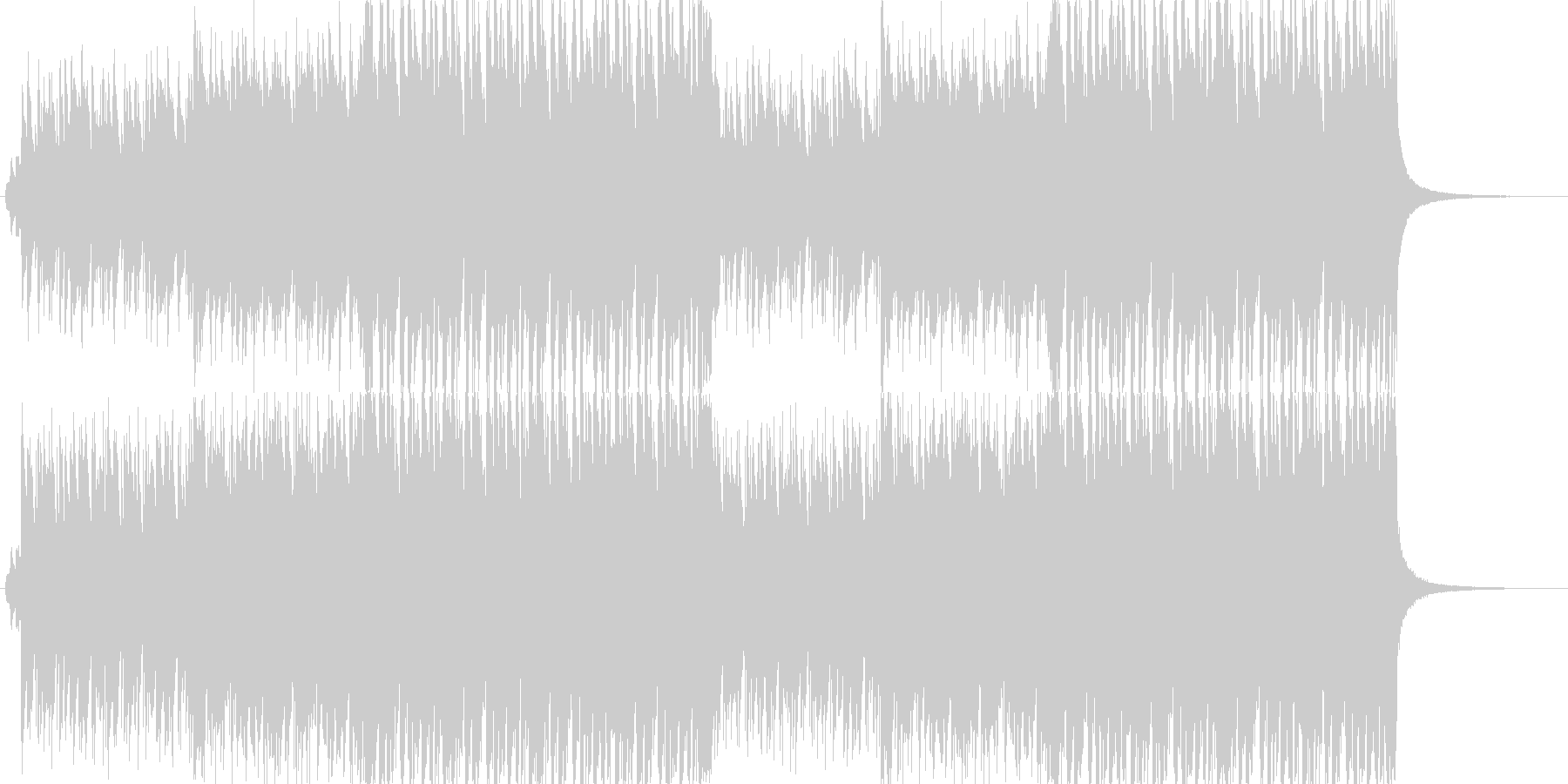 CMや映像、ハッピーなウクレレ、口笛の未再生の波形