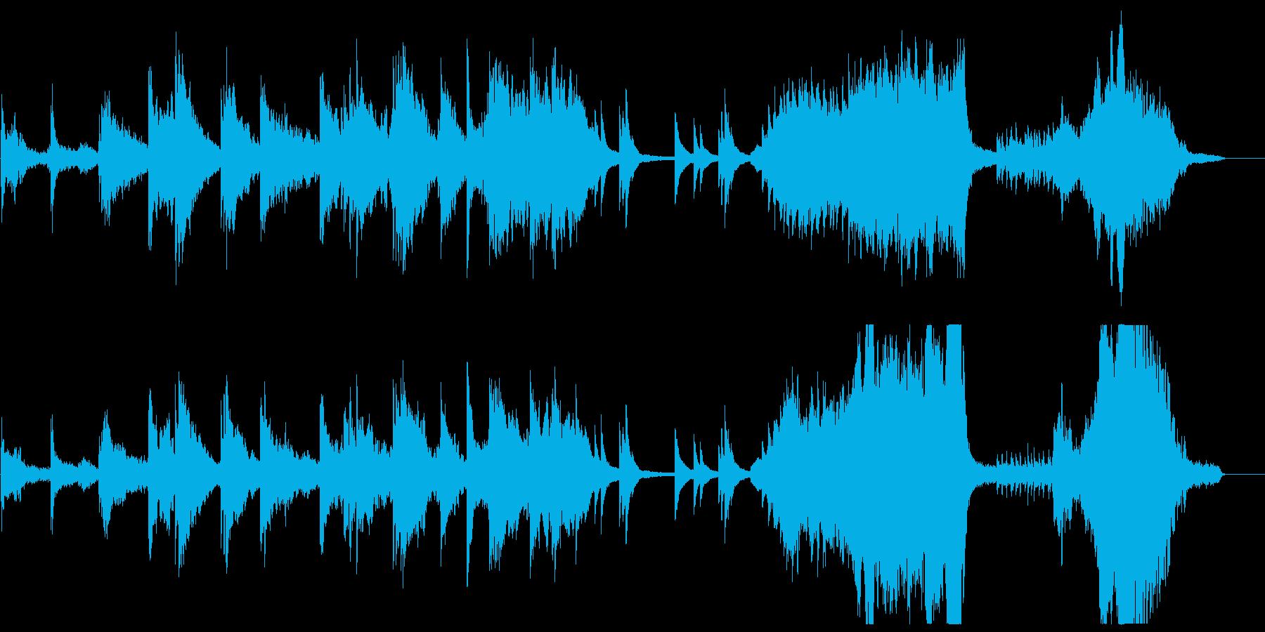 【生演奏】アンビエント:幻想と冷徹な世界の再生済みの波形