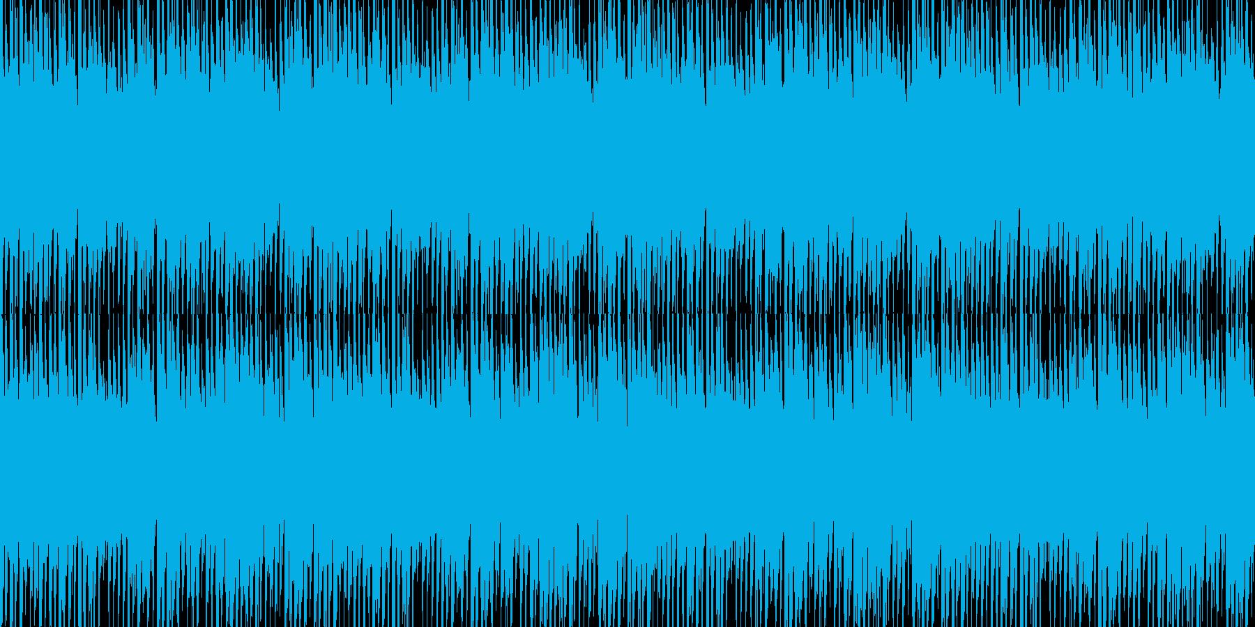 幻想的でリズミカルなループ素材の再生済みの波形