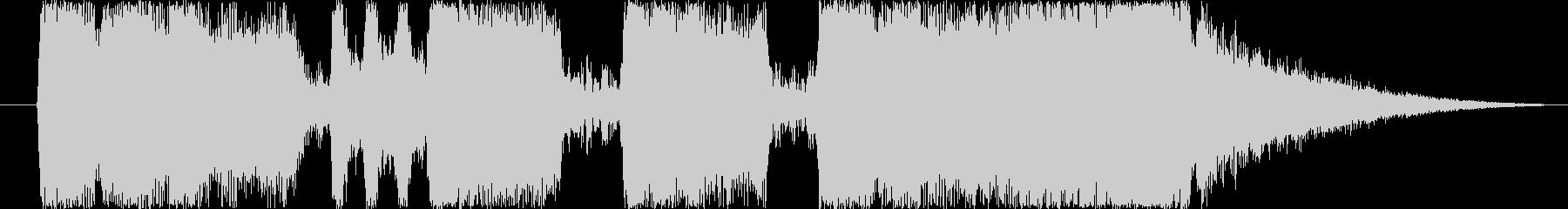 ファンファーレ3の未再生の波形