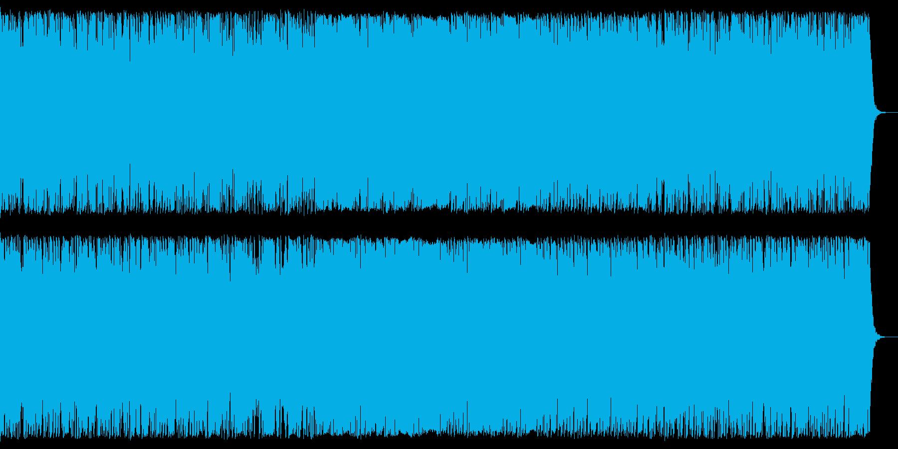 緊迫した場面に コーラス入りオーケストラの再生済みの波形